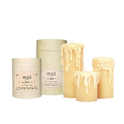 WICKED PRE-DRIPPED BARE PILLAR CANDLE