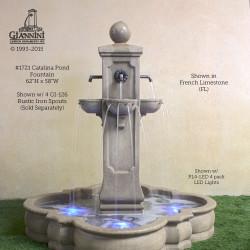1721 Catalina Pond Fountain