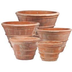 CLASSIC PLANTER WITH LINES ART.106