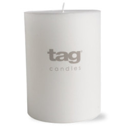 TAG® WHITE CHAPEL 3X4 PILLAR CANDLE