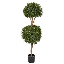 Boxwood 2 Ball Topiary 4'