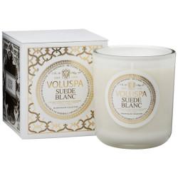 VOLUSPA CLASSIC MAISON CANDLE - Suede Blanc
