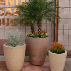 Round Vase Series Planters