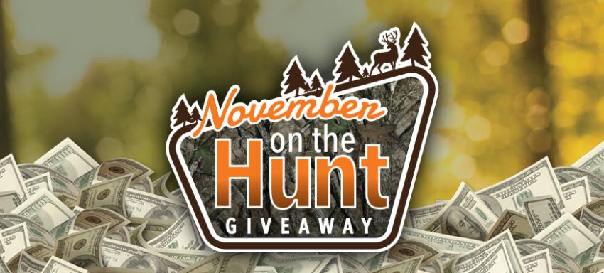 November On The Hunt Giveaway