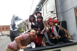 Old Bisbee Brewing Comopany Presents the 7th Annual Pirates of the High Desert