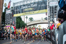 16th Annual Rock 'n' Roll Arizona Marathon & 1/2 Marathon