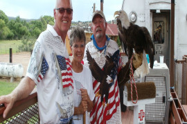 Raptors on the Rails with Liberty Wildlife - Jul. 4