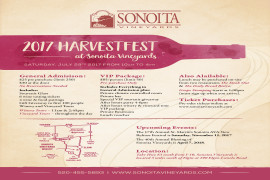 2017 HarvestFest at Sonoita Vineyards