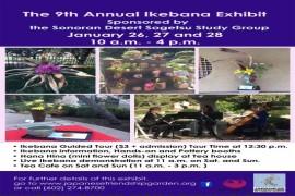9th Annual Ikebana Exhibit