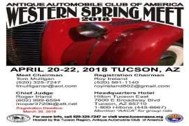 AACA Western Spring Meet