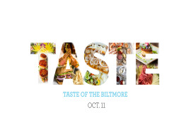 12th Annual Taste of the Biltmore