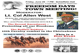 Tombstone 25th Reunion- Freedom Days Town Meeting