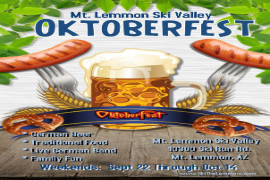 Oktoberfest on Mt. Lemmon