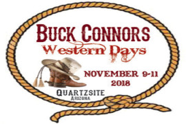 Quartzsite Buck Connors Western Days