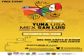 3rd Annual Mayors' Binational Bicycle Ride