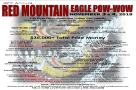 32nd Annual Red Mountain Eagle Pow Wow