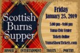 Scottish Burns Supper – 2019
