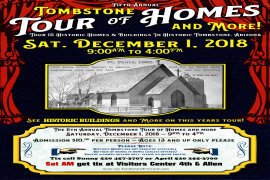 5th Annual Tombstone Tour of Homes and More