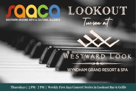 Lookout Tucson Jazz Concert Series: Peña, Carruthers, and Lund (classic piano trio)