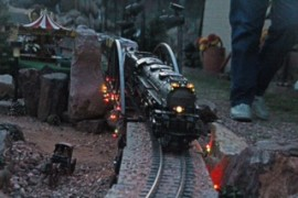 See Trains in the Garden Open House Tours - Dec. 14-15