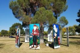 Santas in the Park