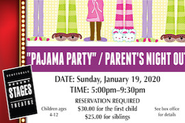 Desert Stages Theatre Pajama Party