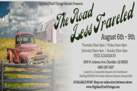 "Highland Yard Vintage ""The Road Less Traveled"""