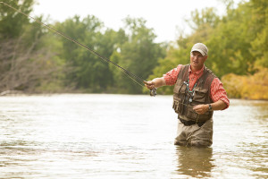 Fly Fishing in Manistee