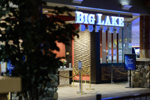 Entrance to Big Lake Buffet