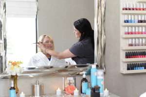 Nectar Spa & Salon Make-Up Application Station
