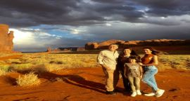 Monument Valley Grand Canyon and Sedona Two-Day Van Tour