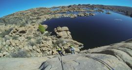 Arizona Rock Climbing in Prescott