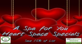 Save 15% ...after flying, driving and all your Sedona activities Think Relax, Restore, & Rejuvenate