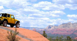 Get 50% Off 4X4 Jeep Wrangler Rental in Sedona