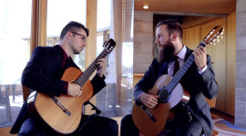 2019 Pinnacle Concert Series: Petrichor Guitar Duo & Art Event