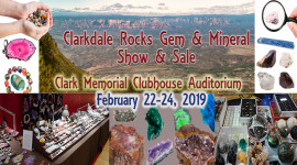 44th Annual Clarkdale Rocks Gem & Mineral Show