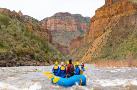 Raft Through 'Arizona's Other Grand Canyon'
