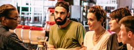 Trendy Bars & Coffee Shops