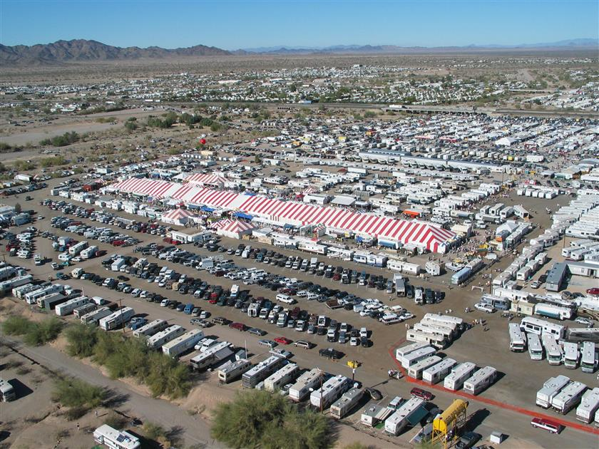 Quartzsite Gem Show 2020.Annual Sports Vacation Rv Show Visit Arizona