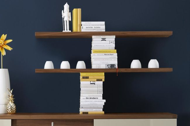 TIME – Wall-mounted shelf / angular shelf