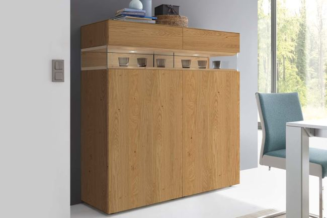 NEO – Highboard (wood versions)
