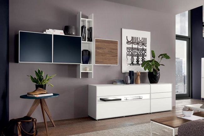 Easy Living Room Combination Hülsta Design Furniture