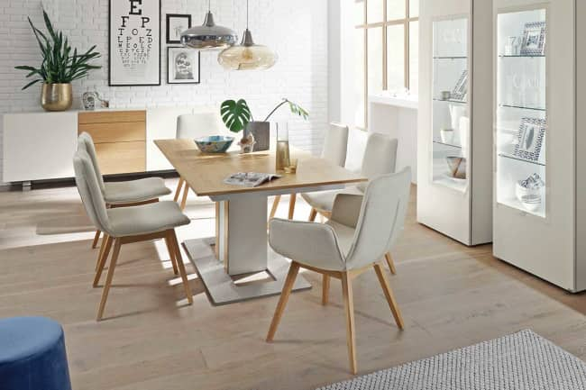 DINING – table T90 with column support