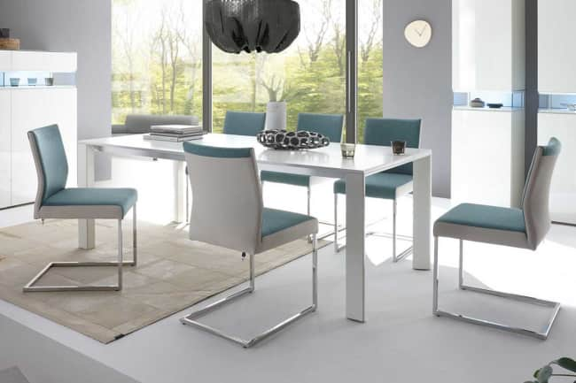 DINING Table T 90 With A Four Leg Frame
