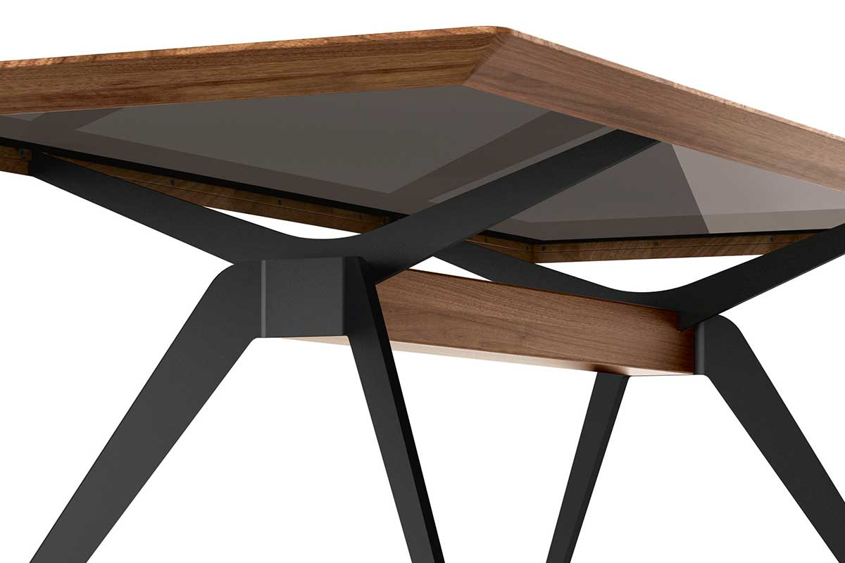 SOLID – Cross-leg table