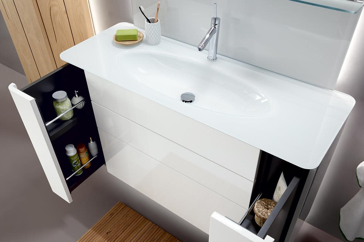 GENTIS – family bathroom design A with accent unit