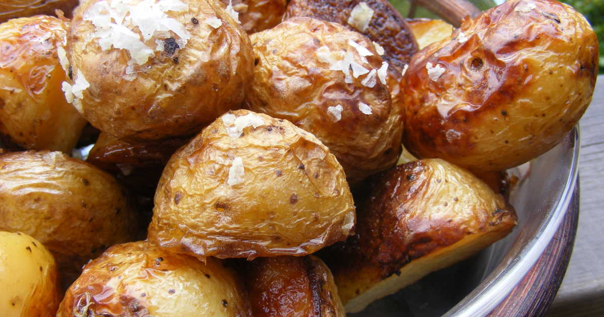 potatis och grönsaker i ugn recept