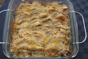 mjuk äppelkaka med kardemumma