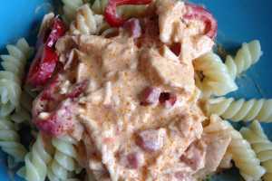 italiensk pastasås med kyckling