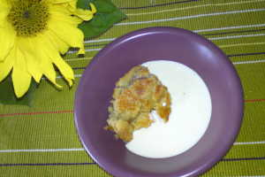 äppelpaj med havregryn utan mjöl